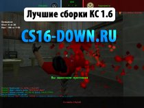 Скачать Counter-Strike 1.6 RaZeR 2016